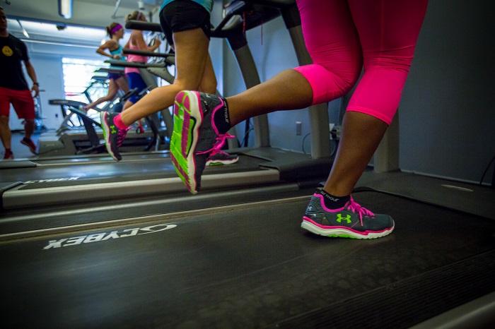 Zapatillas apropiadas para entrenar en el gimnasio