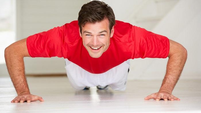 Rutina de ejercicios para realizar en casa