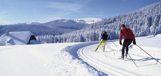 Schwarzwald Winter Langlauf Hinterzarten